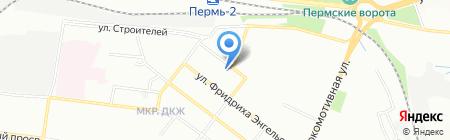 СКСервис на карте Перми