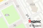 Схема проезда до компании Паритет-Эксперт в Перми