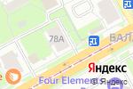 Схема проезда до компании Эрика в Перми