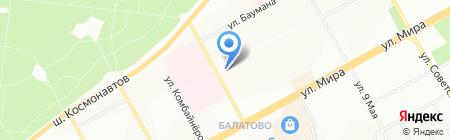 Инженер на карте Перми