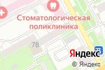 Схема проезда до компании Мировые судьи Индустриального района в Перми