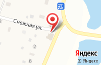 Схема проезда до компании Заречное в Шмидтово