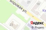 Схема проезда до компании Берег в Перми