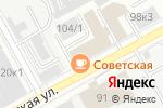 Схема проезда до компании Советская столовая в Перми