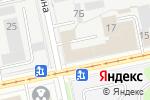 Схема проезда до компании Оружейник в Перми