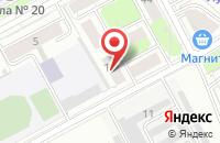 Схема проезда до компании Интернет Идея в Перми