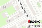 Схема проезда до компании Диопром в Перми