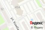 Схема проезда до компании Т-ком в Перми