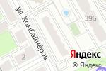 Схема проезда до компании ДомДоступно в Перми