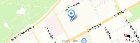 Детский сад №305 на карте Перми