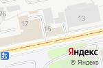 Схема проезда до компании Третье Чувство в Перми