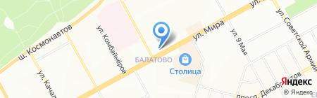 АБВ сервис на карте Перми