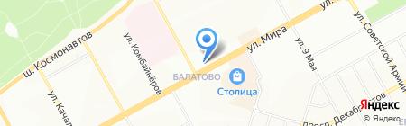 Банкомат Лето Банк на карте Перми