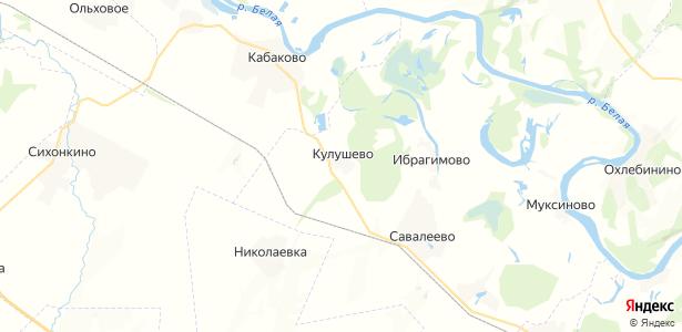 Кулушево на карте