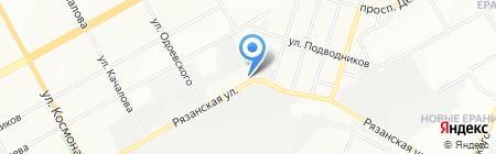Express-шина на карте Перми