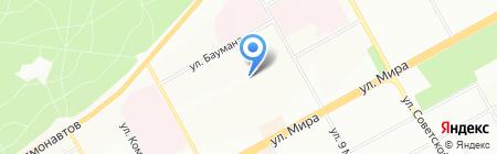 Детский сад №278 на карте Перми