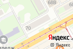 Схема проезда до компании Мебель-92 в Перми