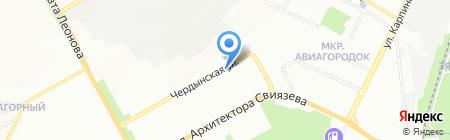 Салон цветов на карте Перми