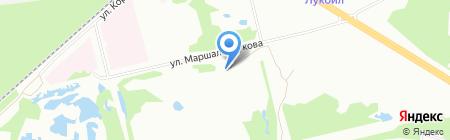 АМА-экспортс на карте Перми