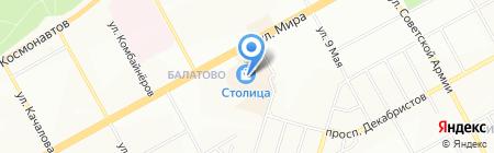 Банкомат НОМОС Банк на карте Перми