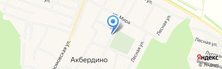 Мечеть с. Акбердино на карте Акбердино