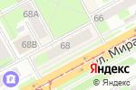 Схема проезда до компании Россельхозбанк в Перми