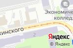 Схема проезда до компании Пермский в Перми