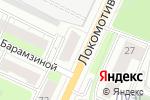 Схема проезда до компании Акварель в Перми