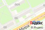 Схема проезда до компании Alisa в Перми