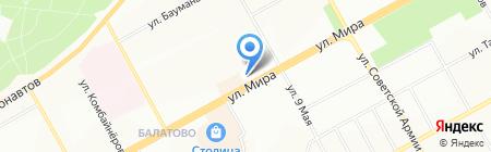 Софи на карте Перми