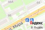 Схема проезда до компании Сладкий мишка в Перми