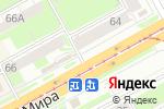 Схема проезда до компании Киоск по продаже хлебобулочных изделий в Перми