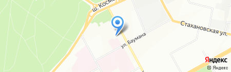 Style на карте Перми
