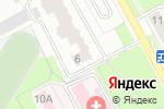 Схема проезда до компании Crush в Перми
