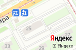 Схема проезда до компании Тенториум в Перми
