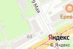 Схема проезда до компании Сапог в Перми
