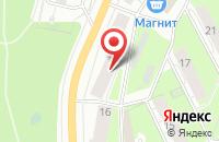 Схема проезда до компании Автошкола №1 в Перми