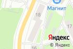 Схема проезда до компании Минеральные воды Железноводска в Перми