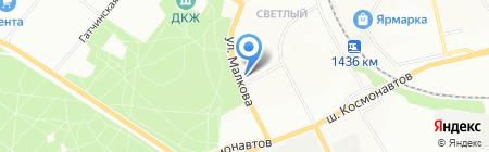 Дом Сервис на карте Перми