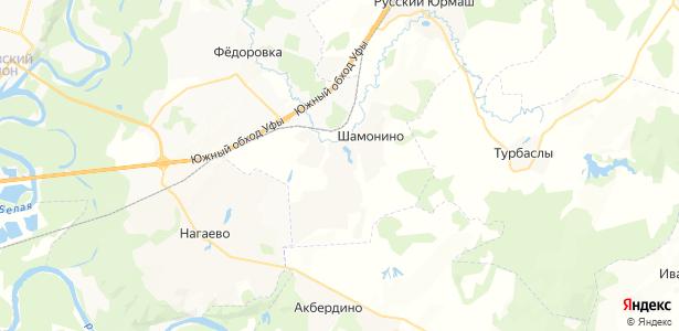 Шмидтово на карте
