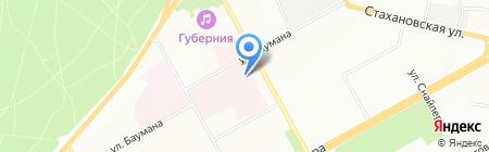 Сеть аптек на карте Перми