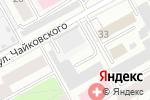 Схема проезда до компании Теле-Инвест в Перми