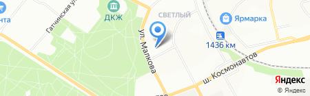 ПАМИР на карте Перми