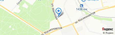 Уральский профиль на карте Перми
