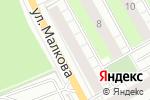 Схема проезда до компании Уральский профиль в Перми