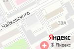 Схема проезда до компании Компания по предоставлению услуг эвакуатора в Перми
