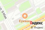 Схема проезда до компании Драйв Люкс в Перми