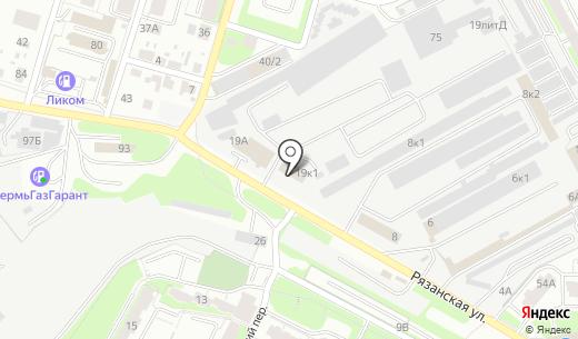 Авторазбор59. Схема проезда в Перми