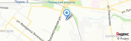 ХаусДом на карте Перми