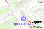 Схема проезда до компании За Рулем в Перми